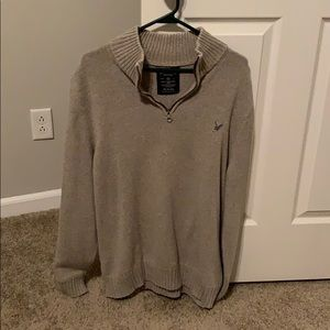 American Eagle tan sweater. XL.